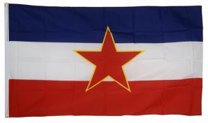 Старый флаг Югославии 90x135 см