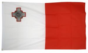 Флаг Мальты 90x135 см