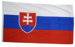 Флаг Словакии 90x135 см