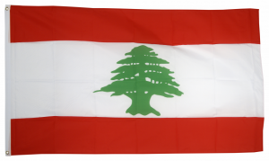 Флаг Ливана 90x135 см