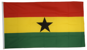 Флаг Ганы 90x135 см
