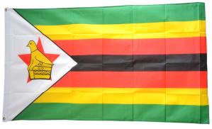 Флаг Зимбабве 90x135 см