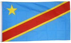 Флаг Демократической Республики Конго 90x135 см