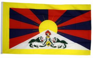 Флаг Тибета 90x135 см