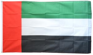 Флаг ОАЭ 90x135 см