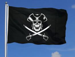 Флаг пирата 90x135 см