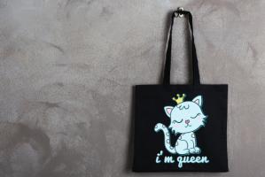 "Сумка шоппер ""Я королева"""