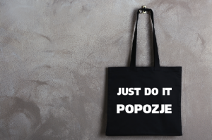 "Сумка шоппер ""Just Do It Popozje"""