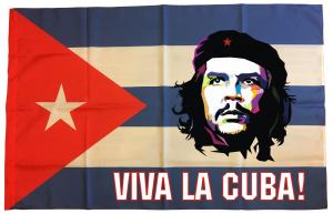 Флаг Кубы с Че Геварой