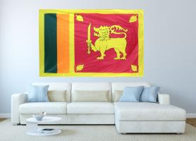 Флаг Шри-Ланки 140x210 см
