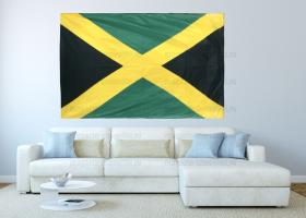 Большой флаг Ямайки 140x210 см