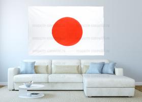 Большой флаг Японии 140x210 см