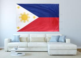 Большой флаг Филиппин 140x210 см