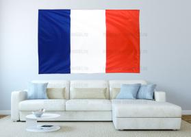 Большой флаг Франции 140x210 см