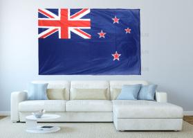 Большой флаг Новой Зеландии 140x210 см