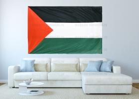 Большой флаг Палестины 140x210 см