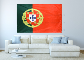 Большой флаг Португалии 140x210 см
