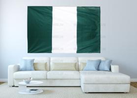 Большой флаг Нигерии 140x210 см