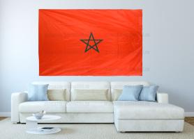 Большой флаг Марокко 140x210 см
