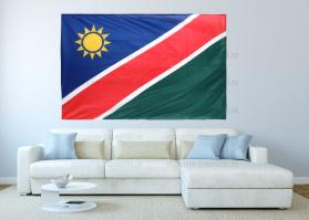 Большой флаг Намибии 140x210 см