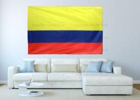Большой флаг Колумбии 140x210 см