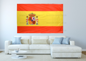 Большой флаг Испании 140x210 см