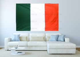 Большой флаг Италии 140x210 см