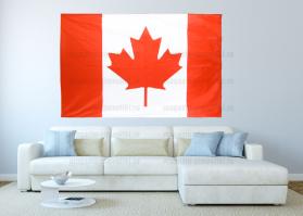 Большой флаг Канады 140x210 см