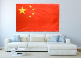 Большой флаг Китая 140x210 см
