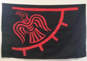 Флаг викингов (Знамя Ворона)