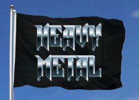 Флаг Heavy Metal