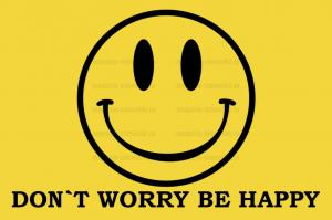 Флаг Don'T Worry, Be Happy