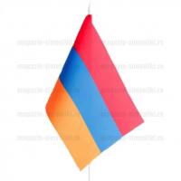 Флаг Армении настольный на подставке