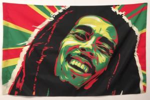 Флаг с Бобом Марли 90x135 см