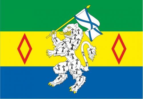 Флаг Текстильщиков(район г. Москвы)