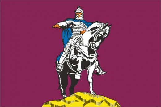 Флаг  Центрального административного округа(район г. Москвы)