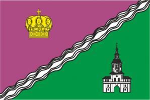 Флаг  Южного административного округа(район г. Москвы)