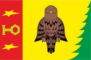 Флаг  Юбилейного округа(Московская область)