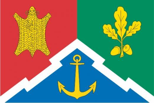 Флаг Южно- Портового(район г. Москвы)