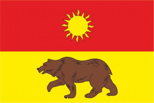 Флаг Южного Медведкова(район г. Москвы)