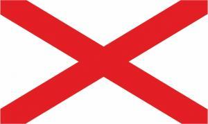 Флаг штата Алабама(США)