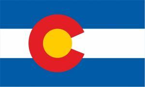 Флаг штата Колорадо(США)