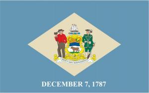 Флаг штата Делавэр(США)