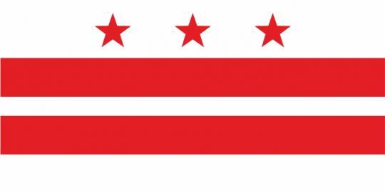 Флаг Федерального округа Колумбия(США)
