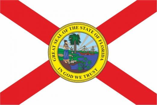 Флаг штата Флорида(США)
