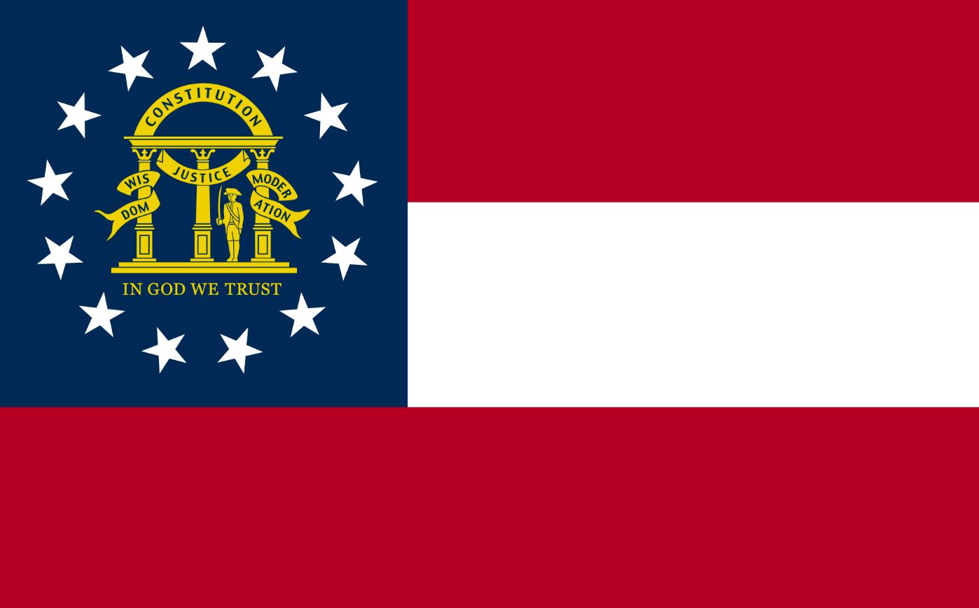 Флаг штата Джорджия(США)