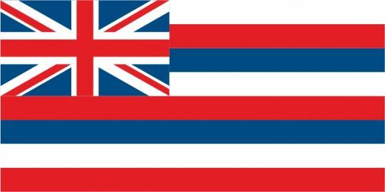 Флаг штата Гавайи(США)