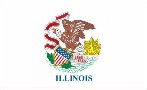 Флаг штата Иллинойс(США)