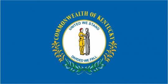 Флаг штата Кентукки(США)