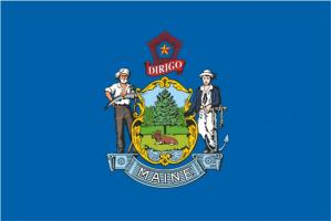Флаг штата Мэн(США)